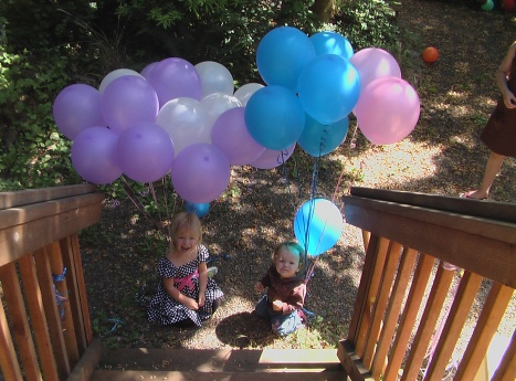 What to do with too many balloons...